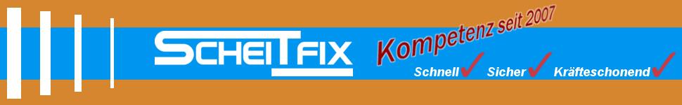 Header Grafik inkl. Logo von ScheitFix